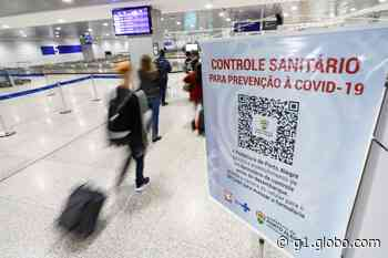 Nos primeiros dias de barreira sanitária, Porto Alegre registra seis casos positivos de Covid no aeroporto - G1