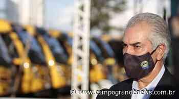 Reinaldo Azambuja está em Porto Alegre para reunião com integrantes do Codesul - Campo Grande News