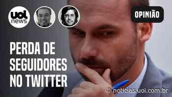 Perda de seguidores do Twitter preocupa bolsonaristas: Sakamoto e Joel Pinheiro analisam - UOL Notícias