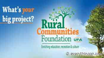 Applications open for UFA Rural Communities Foundation grants - EverythingGP
