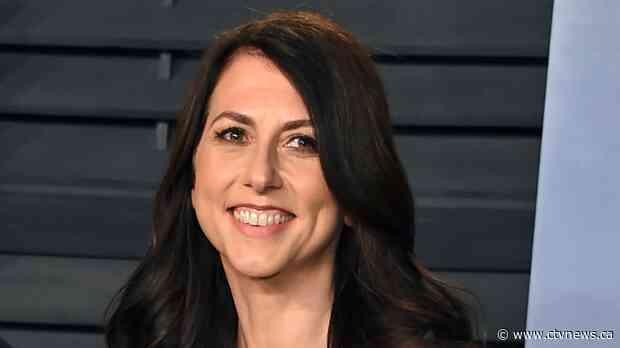 MacKenzie Scott announces she's donating US$2.7 billion to 286 organizations - CTV News