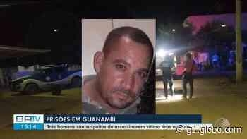 Homens são presos em Guanambi suspeitos de matar outro após discussão em bar na zona rural de Iuiu, no sudoeste da BA - G1