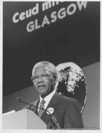 Remember When ... Nelson Mandela arrived in Glasgow, 1993 - HeraldScotland