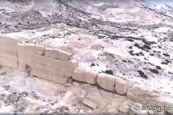 Huaral: sector Cultura dispone protección para la zona arqueológica de Cuyo - Agencia Andina
