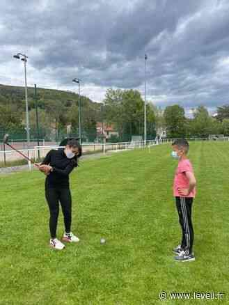 Initiation au golf à l'école - L'Eveil de la Haute-Loire