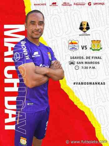 Ver en vivo Chavelines vs Sport Huancayo por la primera ronda de la Copa Bicentenario de Perú - Futbolete