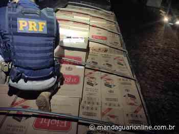 PRF apreende R$ 2,5 milhões em cigarros contrabandeados em Maringá - Mandaguari Online