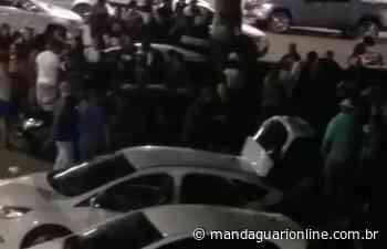 Aglomeração é dispersada na Avenida Getúlio Vargas em Jandaia - Mandaguari Online