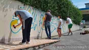 Arena di Preganziol, laboratorio di graffiti per riqualificare l'area - TrevisoToday