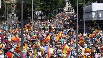 La Plaza de Colón grita no a los indultos - Lancelot Digital