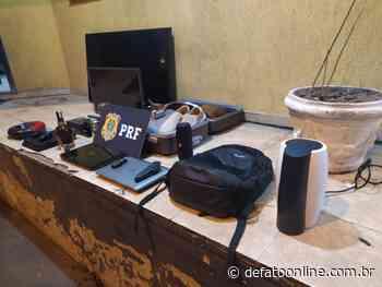 PRF detém suspeitos de furtar em residências na cidade de Itabira - DeFato Online