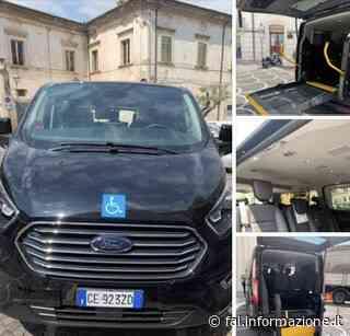 Ditta Di Cesare Edmondo di Collecorvino: nuovo mezzo trasporto disabili a Pianella - Fai Informazione