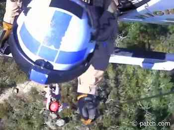 Injured Hiker Rescued Near Danville: VIDEO - Patch.com