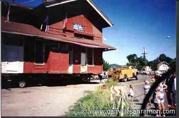Museum presenting on the history of the Danville train depot - danvillesanramon.com