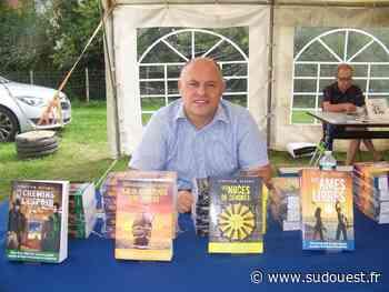 Cavignac : Sébastien Delanes en dédicace à la librairie - Sud Ouest