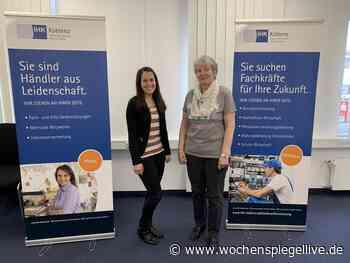Team der IHK-Geschäftsstelle in Simmern verjüngt sich Simmern. Mit einer kleinen und selbstverständlich Corona konformen - WochenSpiegel