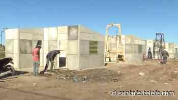"""""""Felizmente en Las Lomas estamos terminando 120 casitas y erradicando 120 ranchos"""" - Telefe Santa Fe"""
