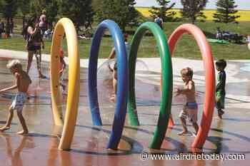 Airdrie splash park aiming to open in time for Canada Day - Airdrie Today