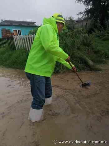Fuerte lluvia en Tlaxiaco dejó encharcamientos - Diario Marca de Oaxaca