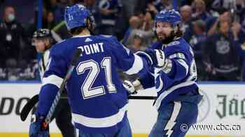 Kucherov contributes 3 helpers as Lightning level series with Islanders