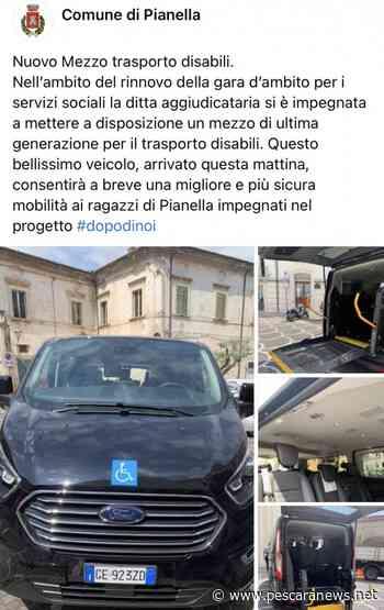 Pianella%2C+nuovo+mezzo+per+il+trasporto+disabili+a+Pianella - Pescara News