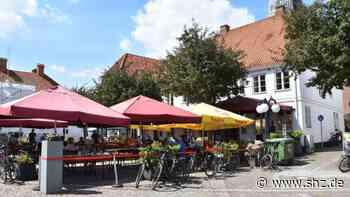 Corona sorgt für Einbußen in Eutin: Brauhaus möchte mit festinstallierten Schirmen die Saison draußen verlängern   shz.de - shz.de