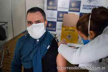 Profissionais do Ensino Superior começam a ser vacinados, em Guarapuava – Correio do Cidadão - Correio do CIdadão