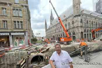 """Ieperlee weer proper dankzij 'spectaculaire bouwputten': """"Bi... (Ieper) - Het Nieuwsblad"""