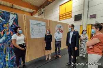 Vaccinatiecentrum Ieper schakelt asielzoekers in als vrijwilligers - Knack.be