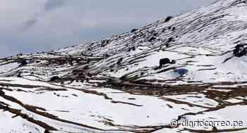 Precipitaciones en la sierra media y alta de Arequipa mañana - Diario Correo