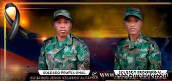 Mueren dos soldados en Tibú por ataque con artefacto explosivo - El Colombiano