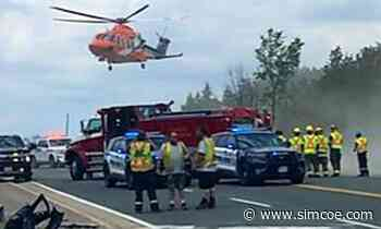 Three people sent to hospital after serious collision in Innisfil - simcoe.com