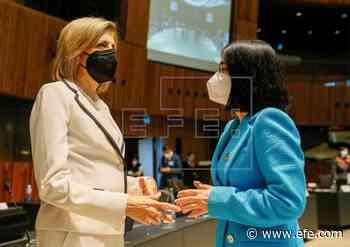 """Carolina Darias llama a afrontar """"juntos"""" los retos sanitarios en la UE - Agencia EFE"""