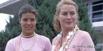 H&M vende la falda pareo que llevó Carolina de Mónaco con camiseta básica en 1978 - ELLE