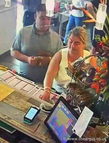 Cash stolen from tip jar at Carats Café in Southwick