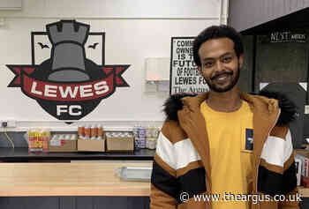 Lewes FC helping refugees with volunteer jobs at stadium
