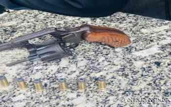Miracema: Ação do 36º BPM prende jovem com arma e munições - O Dia