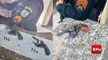 Polícia Militar apreende armas em Itaocara e Miracema - SF Notícias