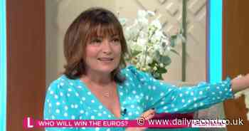 Lorraine Kelly taunted by Susanna Reid and Richard Madeley for Scotland score live on air - Daily Record