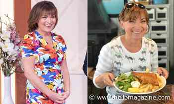 Lorraine Kelly's daily diet: TV presenter's breakfast, lunch and dinner revealed - HELLO!