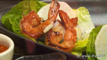 Ching-He Huang's Korean prawn BBQ tapas - ITV News