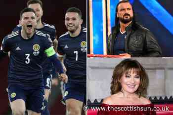 Euro 2020: Scottish celebs including Lorraine Kelly & Drew McIntyre urge footie stars to do us proud... - The Scottish Sun