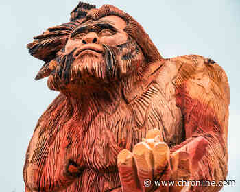 Oakville Business Asks for Help Naming 17-Foot Sasquatch Carving - Centralia Chronicle
