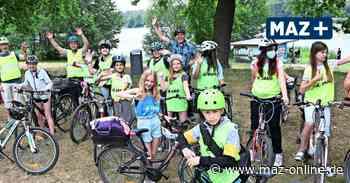 Auf dem Fahrradsattel die Stadt Oranienburg entdecken - Märkische Allgemeine Zeitung