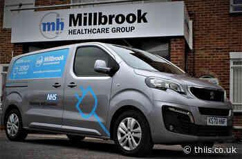 Millbrook Healthcare begins electric van pilot for wheelchair and community equipment services • THIIS Magazine - THIIS