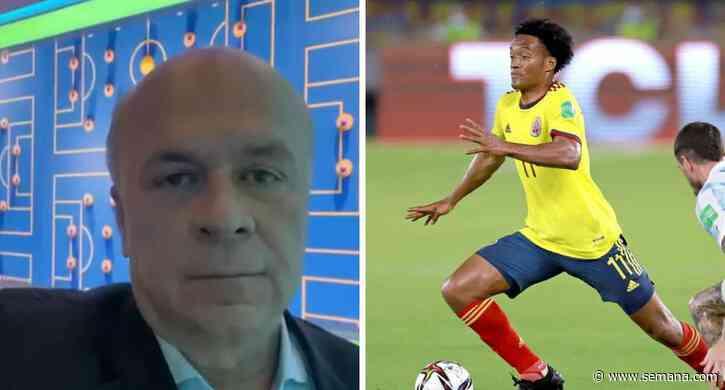 La indirecta de Carlos Antonio Vélez a Cuadrado tras hablar de James Rodríguez - Semana