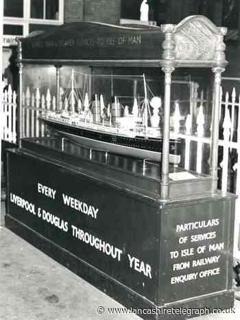 Do you remember model ship on platform at Blackburn Station?