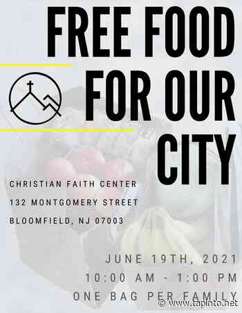 Bloomfield Church to Hold Food Giveaway This Saturday - TAPinto.net