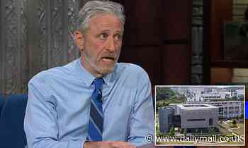 Comedian Jon Stewart suggests COVID originated from Wuhan lab in interview with Stephen Colbert