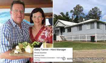 Couple offer six-bedroom home for $300 a week AND a $75,000 job - but STILL can't fill the position